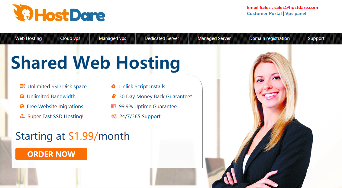 HostDare - Lifetime 30% OFF on Premium China Optimized VPS in Los